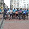 Mnóstwo rowerzystów jedzie przez Śląsk. W Chorzowie tzw. Peleton Zachodni