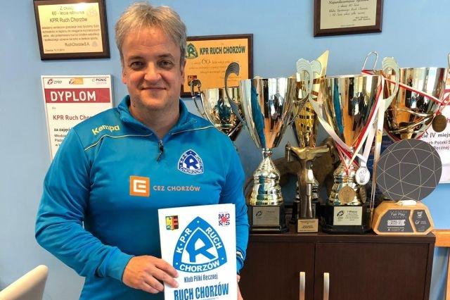Marko Brezić będzie trenerem KPR Ruch Chorzów