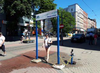 Kurtyny wodne na ulicach Chorzowa