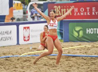 ME w plażówce: Polki wyszły z grupy, ale o medal będzie ciężko