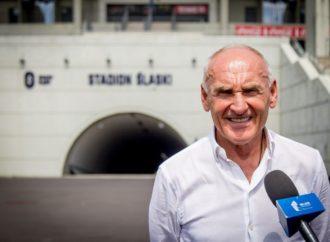 Tour de Pologne: Czesław Lang odwiedził Stadion Śląski