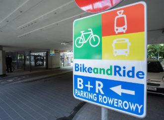 Można zostawić rower i przesiąść się na tramwaj