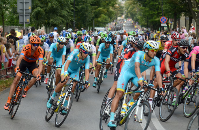 Tour de Pologne przez dwa dni w Chorzowie. Sprawdź, gdzie zobaczysz kolarzy