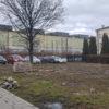Akcja społeczników w centrum miasta. Skwer przy hucie ma nowe drzewa