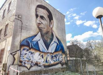Wandale zdewastowali mural przy ul. Karola Miarki