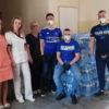 Kolejna akcja kibiców w walce z pandemią