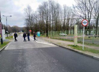 Park Śląski zamknięty