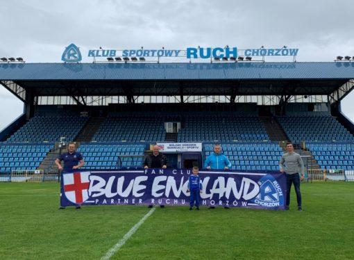 Kolejne wsparcie dla Ruchu z Wysp Brytyjskich. Blue England partnerem Niebieskich