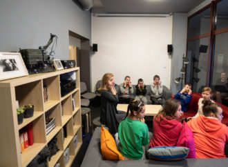 Wakacyjne działania z Grajfką dla dzieci