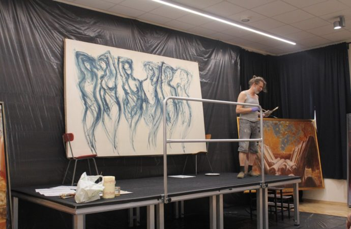 Finisaż wystawy i okazja do spotkania z artystą