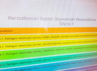 Wyniki Marszałkowskiego Budżetu Obywatelskiego. Są projekty z Chorzowa