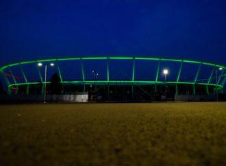 Stadion Śląski na zielono. Zwrócił uwagę na osoby zmagające się z MPD