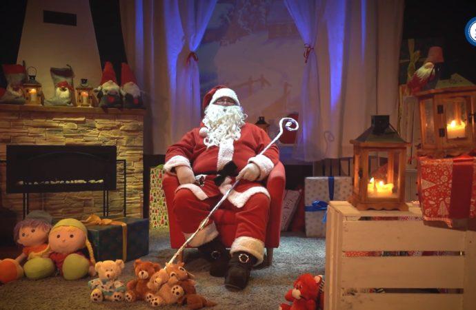 Świąteczna inicjatywa MDK Batory. Mikołaj odwiedzi dzieci w wideorozmowie