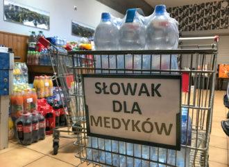 Społeczność Słowaka wsparła chorzowskie szpitale