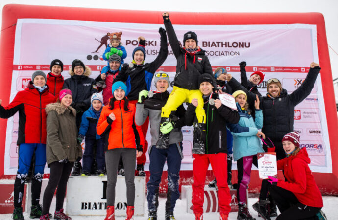 Świetny start UKS Biathlon na Mistrzostwach Polski Juniorów