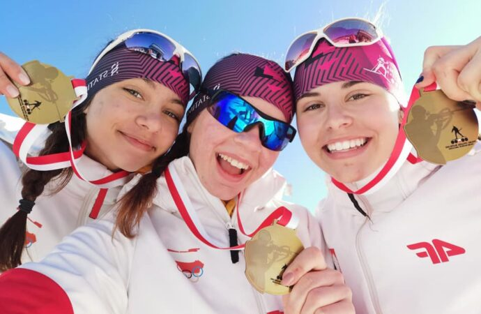 Pełna dominacja. UKS Biathlon zdobył 10 medali na Mistrzostwach Polski Młodzików