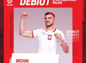 Debiut Michała Helika w reprezentacji Polski