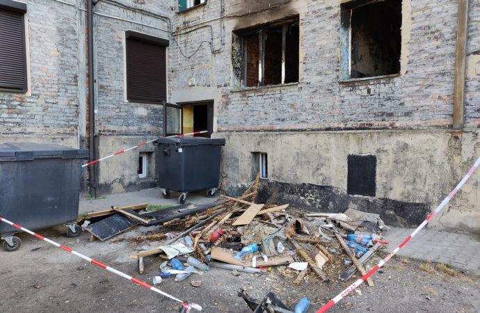 Pożar przy ul. Maciejkowickiej. Jest ofiara śmiertelna