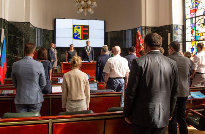 IX Sesja: Prezydent uzyskał absolutorium Rady Miasta. Będzie też nowy honorowy obywatel miasta