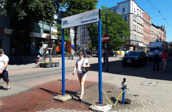 Kurtyny wodne wracają na ulice Chorzowa