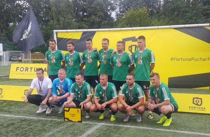 Piłkarze Budoserwisu na trzecim miejscu w Polsce