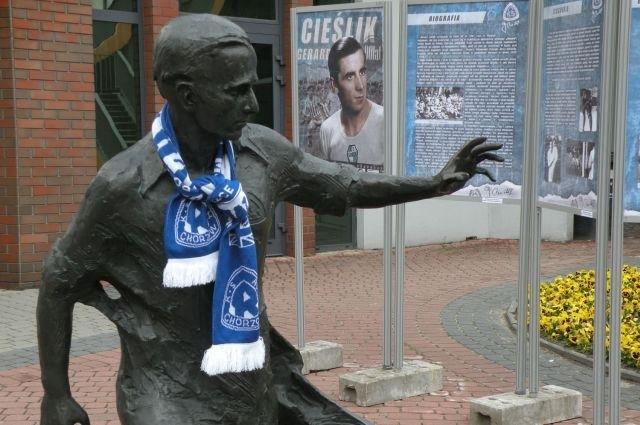 Młodzi piłkarze uczczą pamięć Gerarda Cieślika