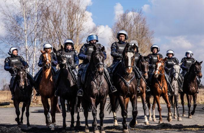 Oddział policji konnej przeniesiony do Częstochowy
