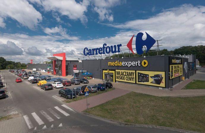 Wsparcie sklepów Carrefour dla szpitali zakaźnych