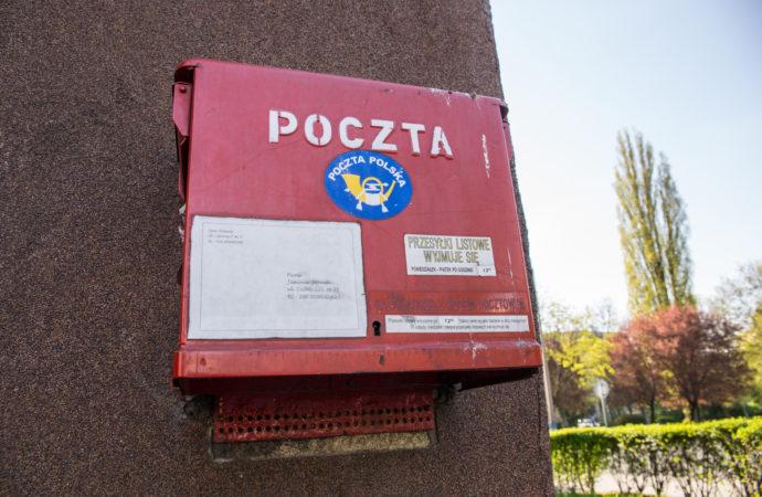 Niepodpisany mail. Poczta poprosiła o dane mieszkańców Chorzowa