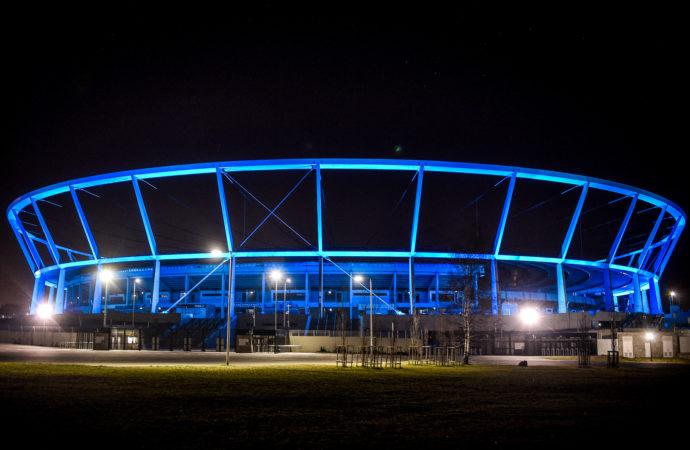 Stadion Śląski podziękuje lekarzom i rozbłyśnie na niebiesko