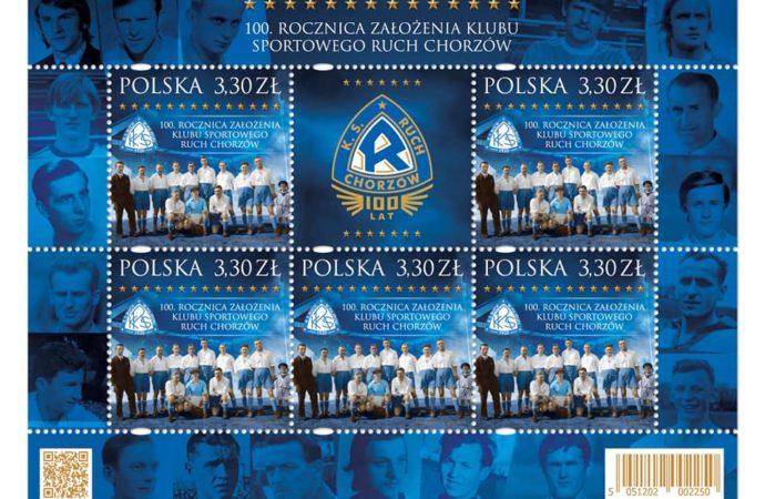 Poczta Polska wprowadzi znaczek na 100-lecie Ruchu