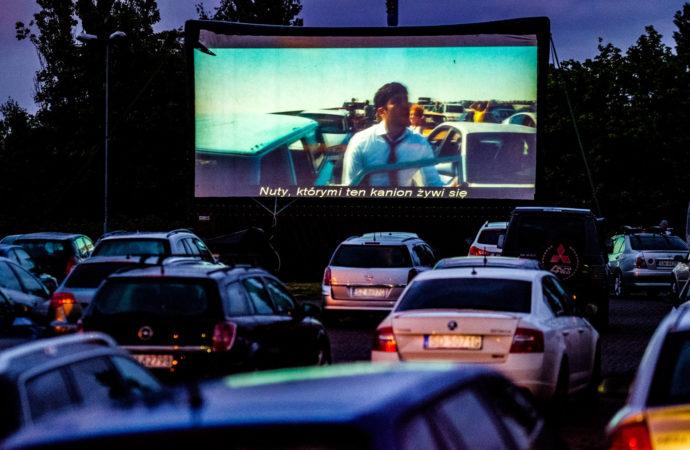 Letnie Kino Samochodowe przy Stadionie Śląskim