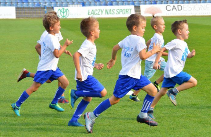 Darmowe treningi piłkarskie dla dzieci