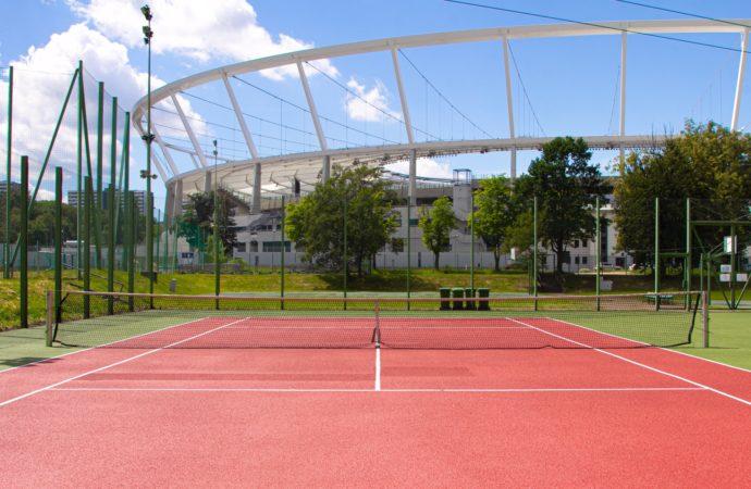 Nowa oferta karnetów. Korty tenisowe na Stadionie Śląskim są znów dostępne