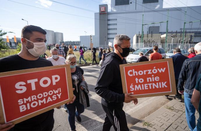 CEZ Chorzów usunął zapasy biomasy