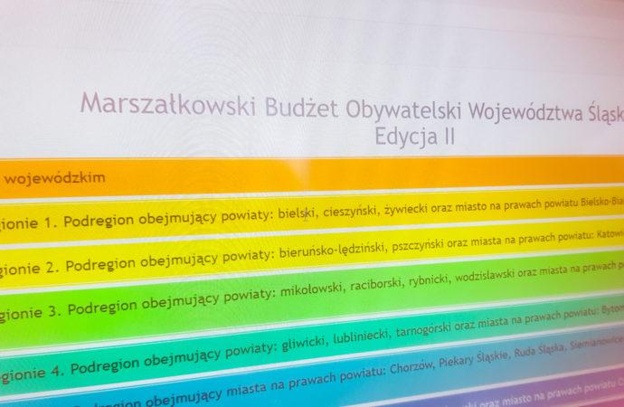 II edycja Marszałkowskiego Budżetu Obywatelskiego. Są projekty z Chorzowa