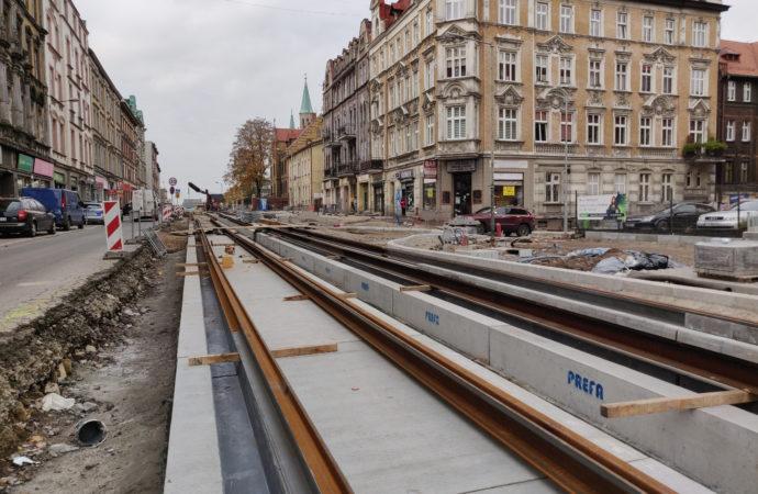 Kolejny etap prac przy ul. 3 Maja