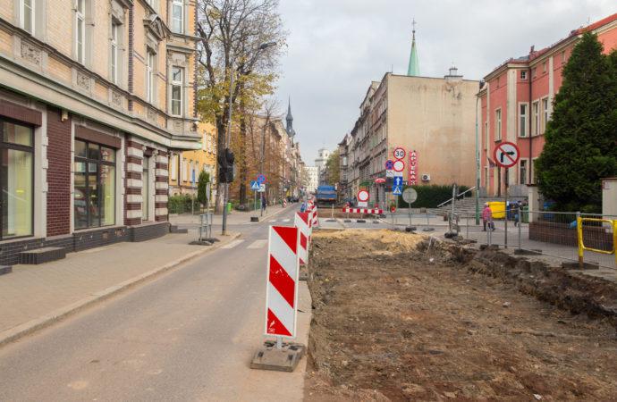 Kolejny etap przebudowy ul. Powstańców