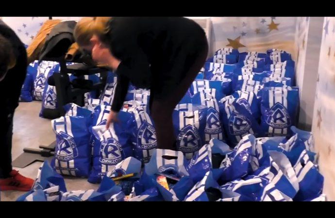Niebiescy pomagają potrzebującym. Łączą siły by działać jeszcze prężniej