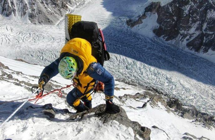 Magdalena Gorzkowska jest w bazie pod K2. Czeka  na lepszą pogodę