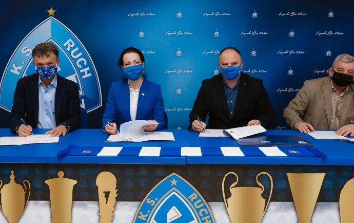 Piekary Śląskie i dwa miejskie kluby zostały nowymi partnerami Ruchu
