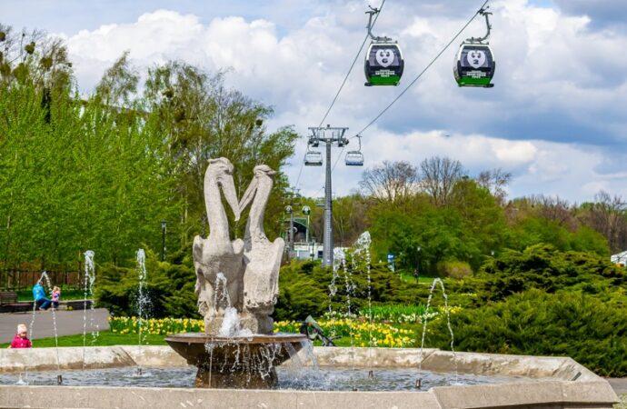 Nie tylko piękno przyrody. W Parku Śląskim działają już fontanny