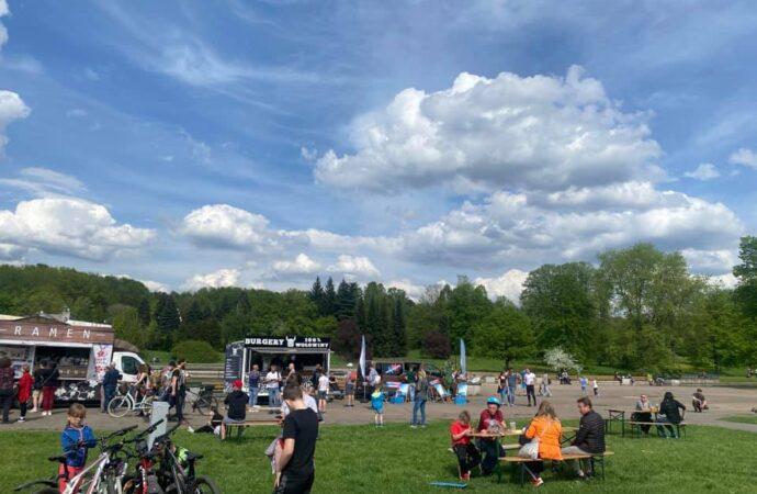 Weekend z foodtruckami w Parku Śląskim