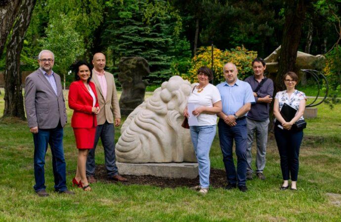 Kolejne rzeźby w Parku Śląskim zostały odnowione