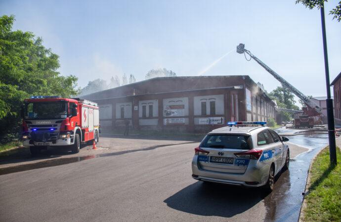 We wczorajszym pożarze zginął mężczyzna