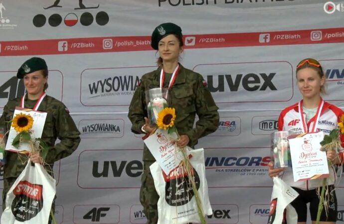 Trzy biegi, trzy złote medale. Popis chorzowianki na mistrzostwach Polski