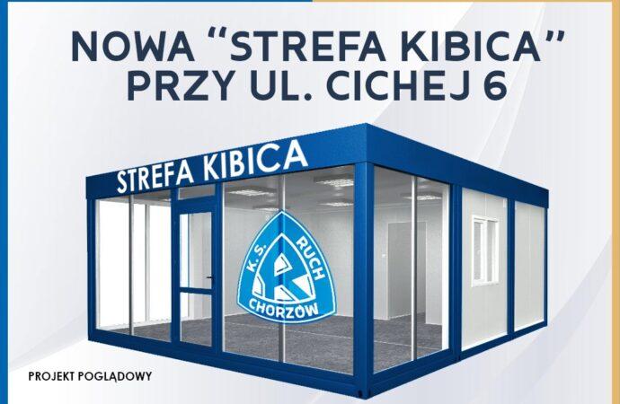Przy Cichej powstanie nowa Strefa Kibica. To projekt Wielkiego Ruchu i zagranicznych fanklubów