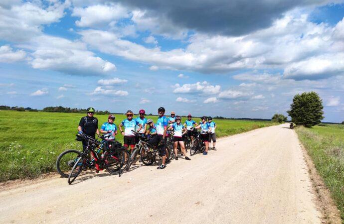 Wyprawa chorzowskich rowerzystów. Na tropie skarbów wschodniej Polski