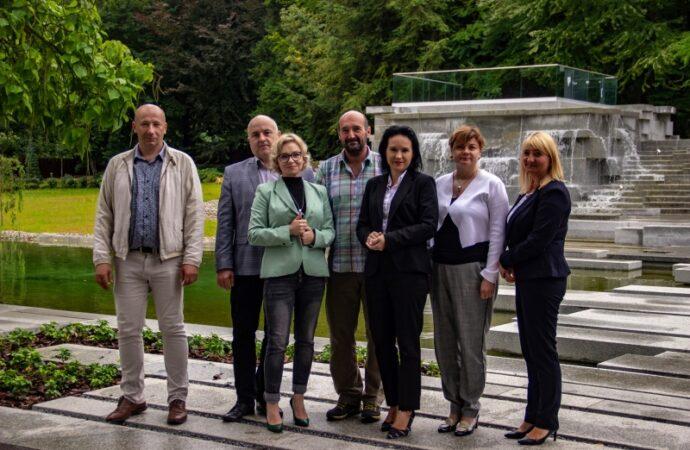Park Śląski pracuje nad wspólnymi projektami z partnerami z Czech