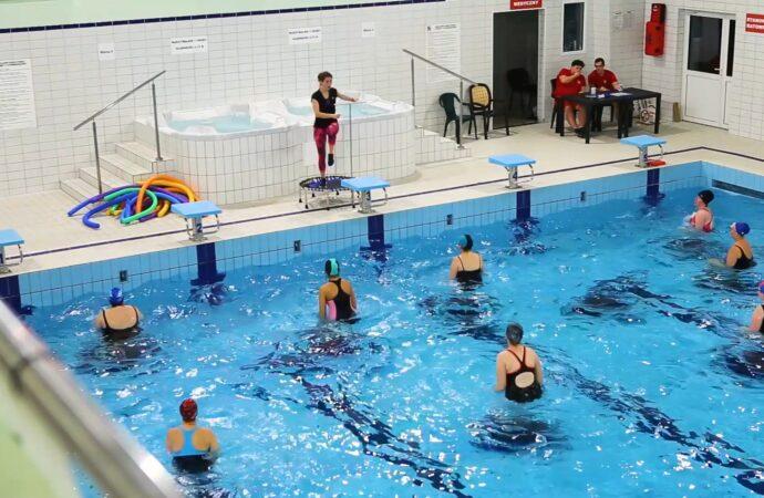 Zajęcia Aqua Aerobiku wracają na miejskie baseny
